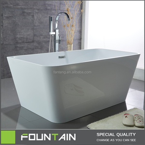 304 S.S. Frame Support Bath Tubs with Brass Drain Modern Project Freestanding Bathtub
