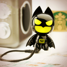 Original Batman USB powered led light,Cartoon Superhero Batman computer lamp,Mini adjustable batman LED USB night light gadgets