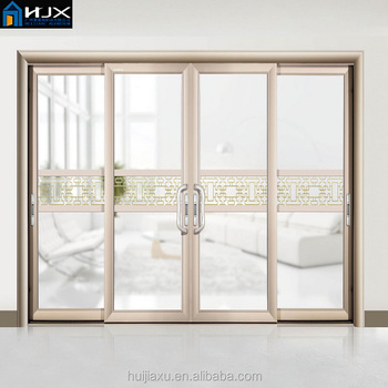 Energy Saving Heavy Duty Glass Aluminium Sliding Doors Aluminum