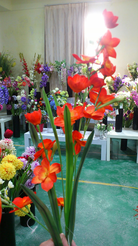 Artificial Narcissus Wedding Flowers /Fake Nurcissus Wedding Flowers /Real feeling artificial Nurcissus for home decoration