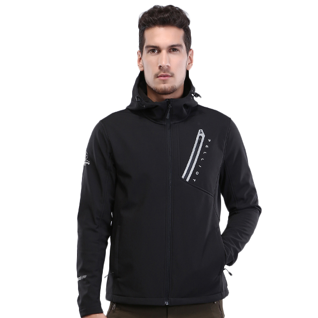 Custom Brand Hoge Kwaliteit Heren Outdoor fleece Soft Shell Jacket