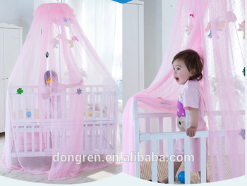 Baby Mosquito Net Toddler Bed Crib Canopy Netting Decorative Nets