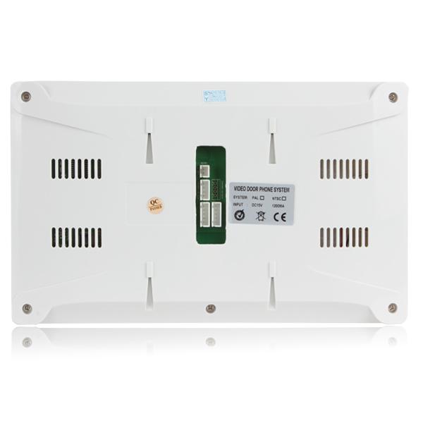7 дюймов ночного видения цифровой домофонные интерком дверной звонок домофона система с TFT LCD монитор и камерой наружного