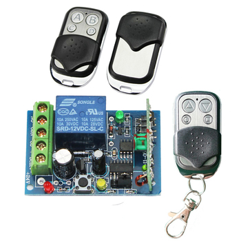 Dc 12v 10a Relay Wireless Rf Remote Control Switch Motor Controller Ag-c100  - Buy Rf Remote Control Switch,12v Dc Motor Controller,Motor Controller