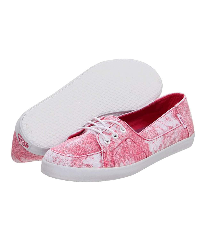 ca5dd653d2 Get Quotations · Vans Womens Palisades Vulc Sneakers hawaiianpink 10