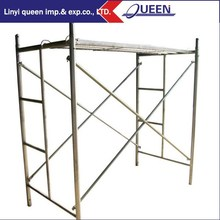 International Standard Construction Galvanized A Frame Scaffolding Ladder Scaffolding Frame