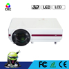 CRE X1500 LCD Projector 5.8' LCD 2800 Lumens/4000:1/1280*800 Home Theater Projector With Android System