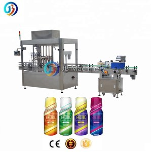 drinking filler Automatic energy drinks bottle filling and capping machine