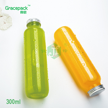 Wholesale 300 330 350 400ml beverage bottle , recycle pet bottle
