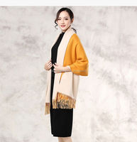 cashmere wool knitted poncho shawls