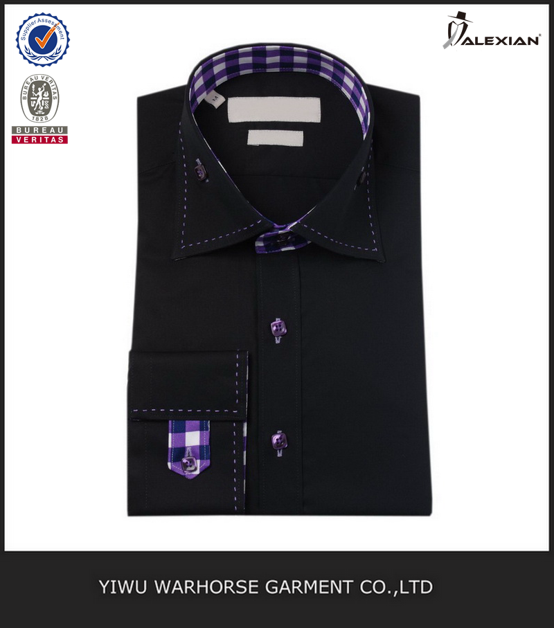 Black Color Fashion Gents Design Shirts - Buy Gents Design Shirts ... b817ce3a704c