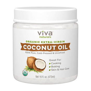 private label 100% pure natural virgin organic coconut oil for hair & skin