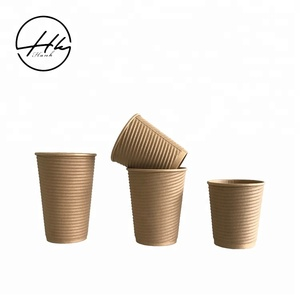 Single Wall High Thickness Kraft Paper Cup
