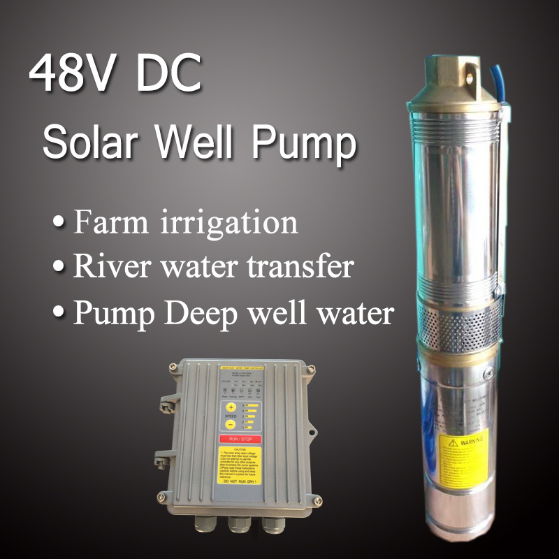 New technology solar battery powered irrigation water pumps