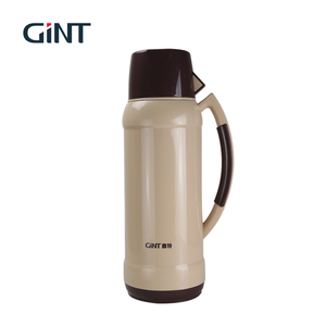 GINT Low price camping 2.0l plastic vacuum flask with filter