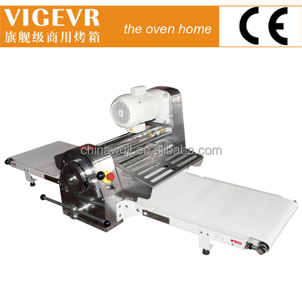 professional dough roller / hot sale pizza dough press machine / bread dough sheeter