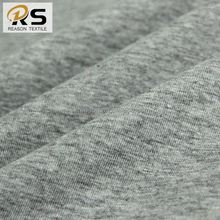 Shaoxing factory wholesale 100% cotton knit jersey fabric grey fabric for garment t-shirt