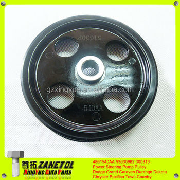 4861540aa 53030962 300313 Power Steering Pump Pulley For Dodge ...