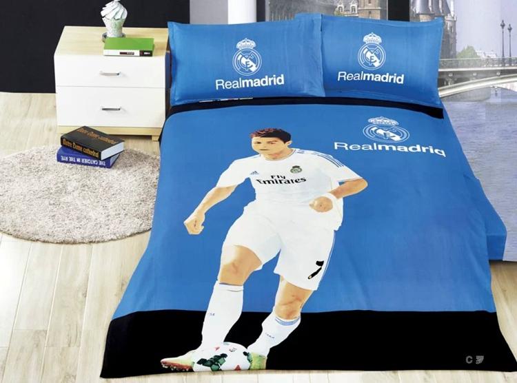 Großhandel Großhandels Haustextilien Real Madrid Team 100 Baumwolle