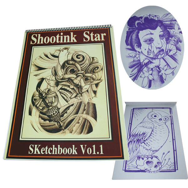 Professional Tattoo Flash Book