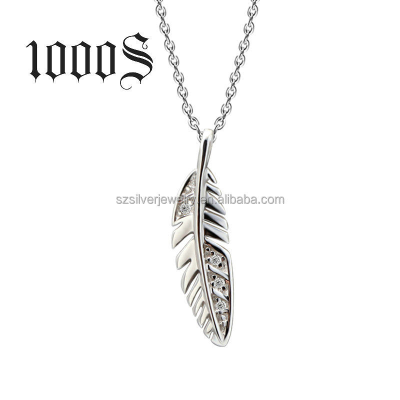 925 sterling silver necklace , 2016 Lastest new Product Autumn leaves of Peadant
