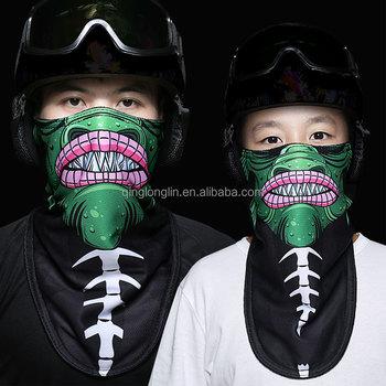 2017 Winter New Customized Printing Ski Half Face Mask Snowboard Balaclava  Mask for Men and Women c21c3d933