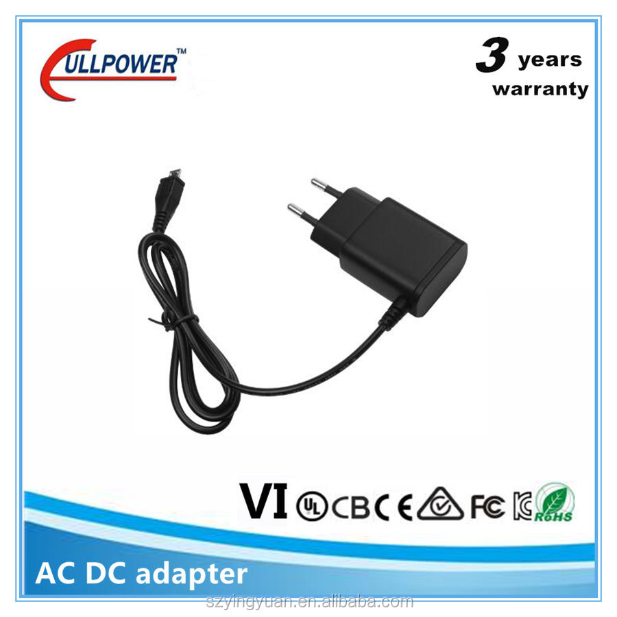 Level VI wall ac adapter adaptor 5v vertical usb power adapters