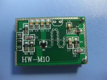 Hw M10 Microwave Sensor Radar Module Temperature