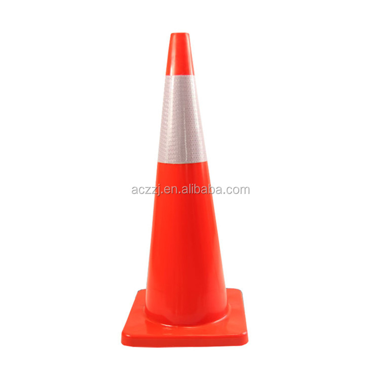 CE 900mm safety road plastic red traffic cone