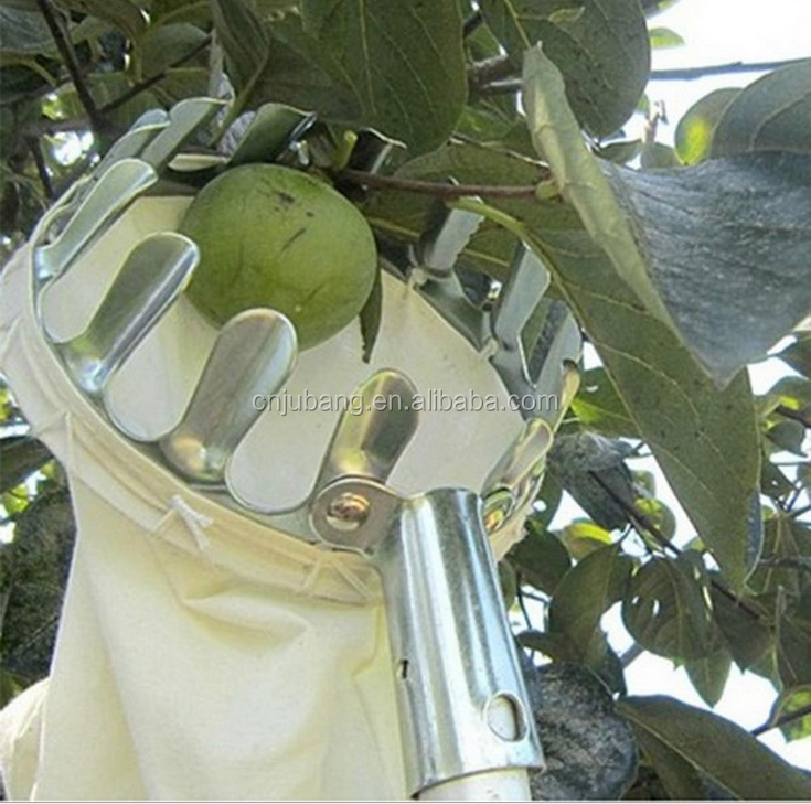 Fruit Picking manual garden Tool Metal Fruit picker / Garden Tools Manual Fruit Picker