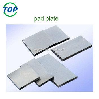 Pad Printing 100x150mm 10mm Thickness Steel Plate With Coating - Buy Steel  Plates For Printing,Pad Printing Steel Plate With Coating,Factory Supply