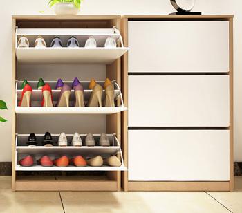 Hot Koop Schoenenrek Kabinethouten Schoenenrekroterende Schoen Kast Buy Roterende Schoen Kasthouten Schoenenrekschoenenrek Kabinet Product On
