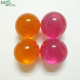 Round 2.5cm dia strawberry scented bath oil pearls for men or women