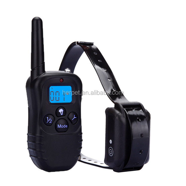 1000m Waterproof and Rechargeable Remote Dog Training Collar Static Shock & Vibration dog collars