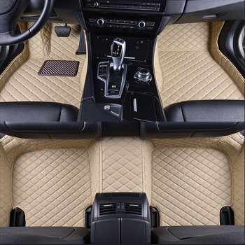 2019 Newly Style Stainless Steel Easy Cleaning Car Accessories Custom Car Foot Mat