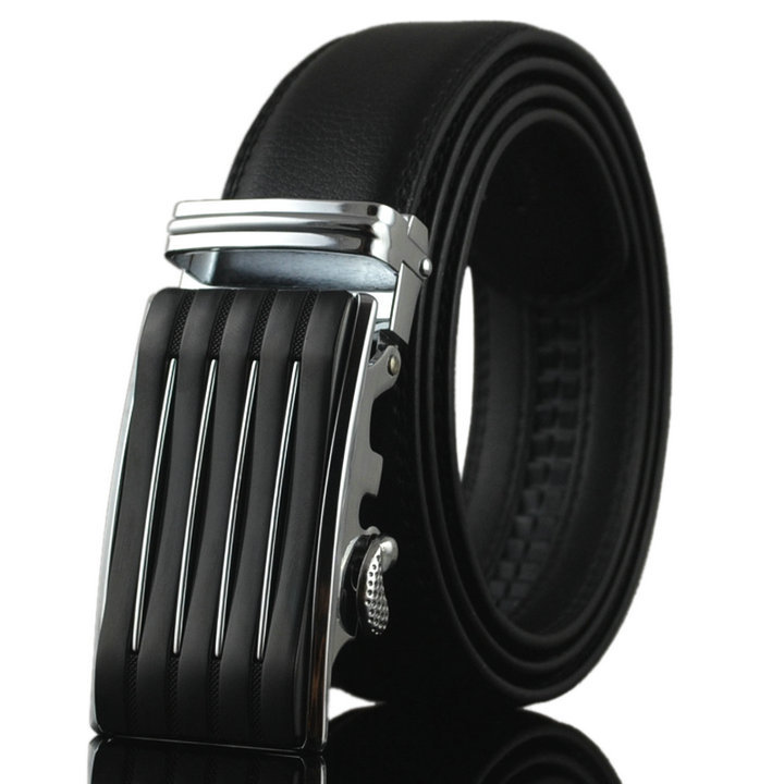Luxury Series Auto Buckle Waist Leather <strong>Belt</strong>, Men's <strong>Belt</strong>