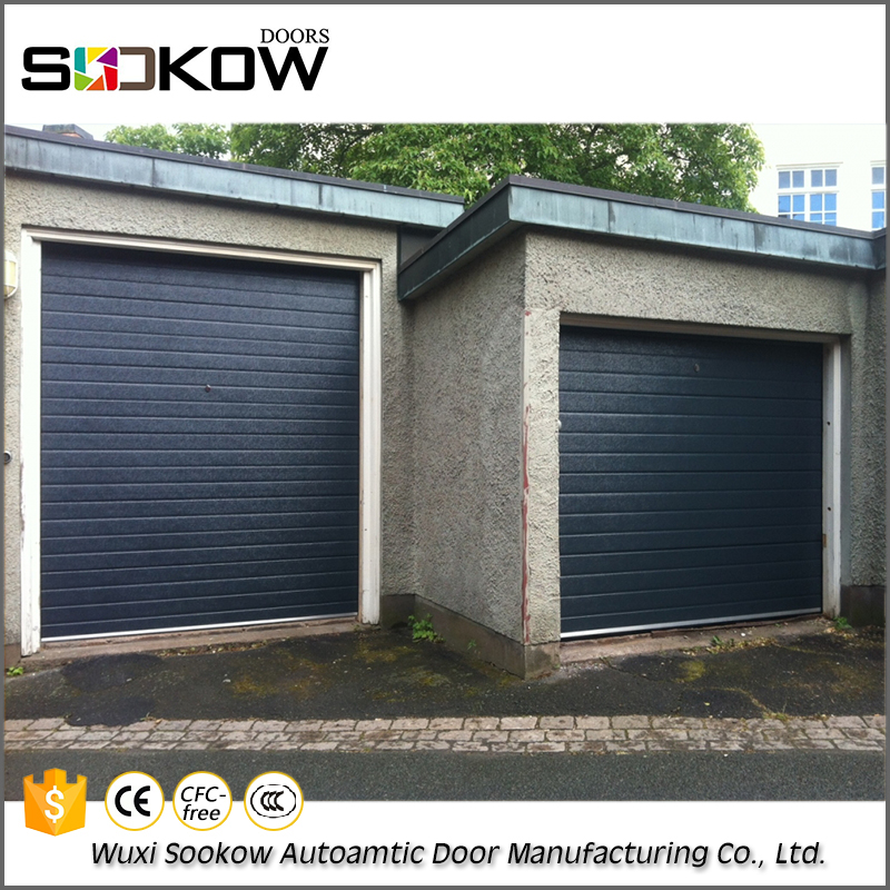Wholesale steel insulated electric garage door for house