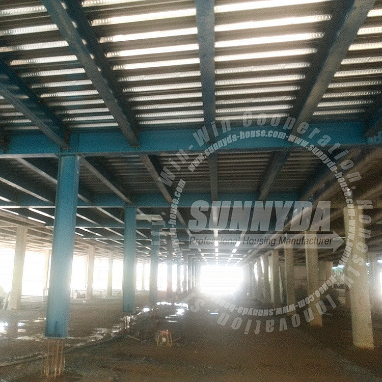Custom china structural price per ton carbon angle line steel structure for building construction