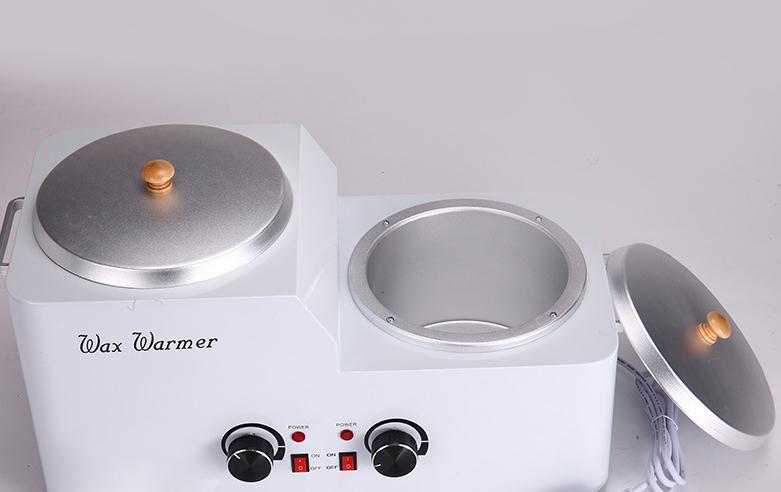 2018 vendita Calda Doppio piatto riscaldatore della cera/professionale depilatoria cera calda