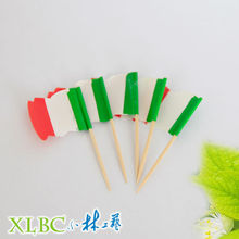 Bamboe <span class=keywords><strong>Tand</strong></span> Cocktail Decoratie Cake Pick Vlag <span class=keywords><strong>stok</strong></span>