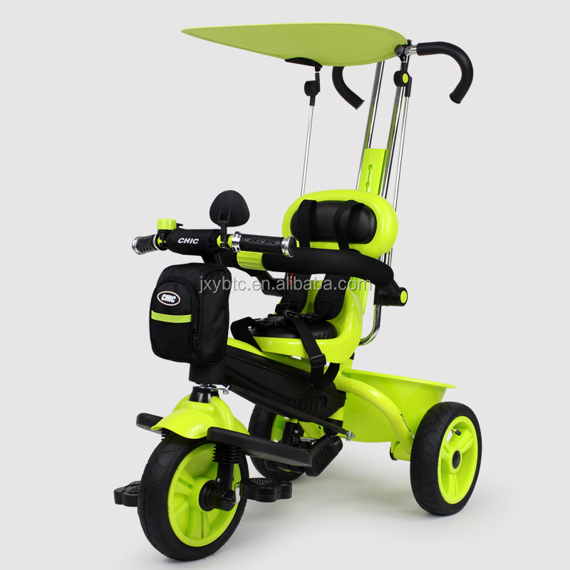 New model good quality cheap Kid's smart toy baby tricycle