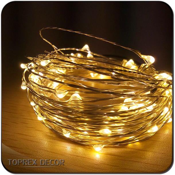 wholesale party supplies distributors led battery string lights for garden