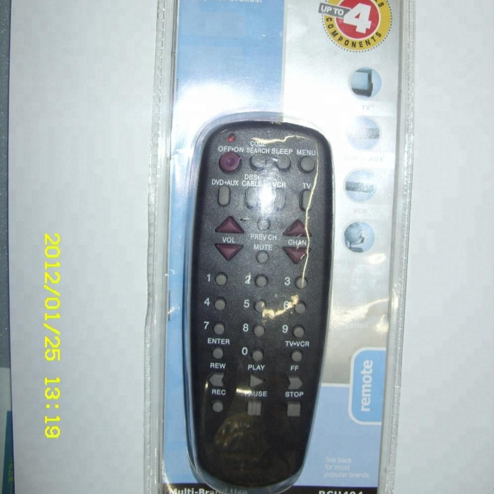 RCU-404 SILVER ,4 IN 1 UNIVERSAL REMOTE CONTROL FOR TV,AUX,DVD  , View  REMOTE CONTROL, STANG Product Details from Tianchang Shengtang Electron  Co ,