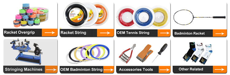 Best quality nylon Customized badminton racket string for 0.66mm