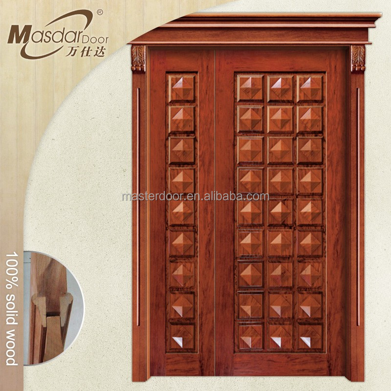 Bali hot mother and son wooden door for house
