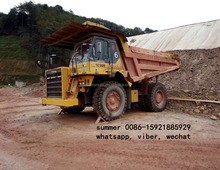 komtu HD325 off-highway dump truck for sale