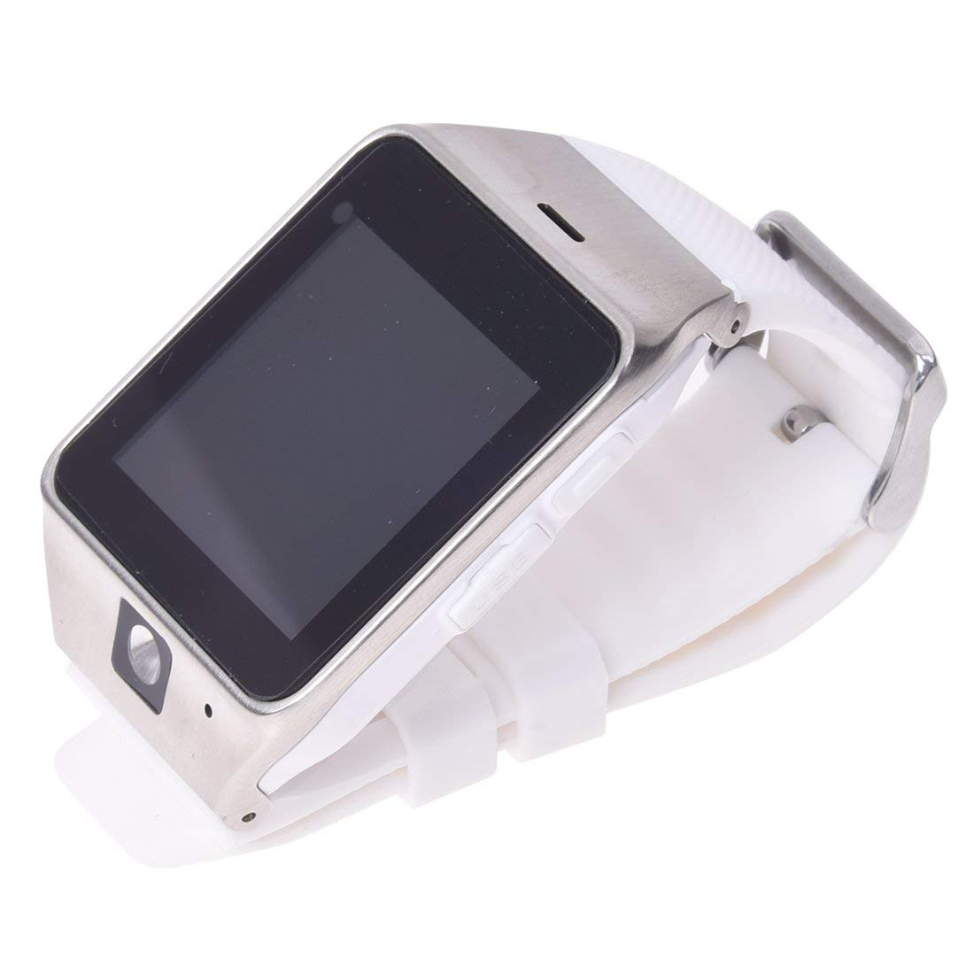 smart watch - SODIAL(R) GV18 NFC-enabled Aplus can be wearable Take Photo Bluetooth smart watch white