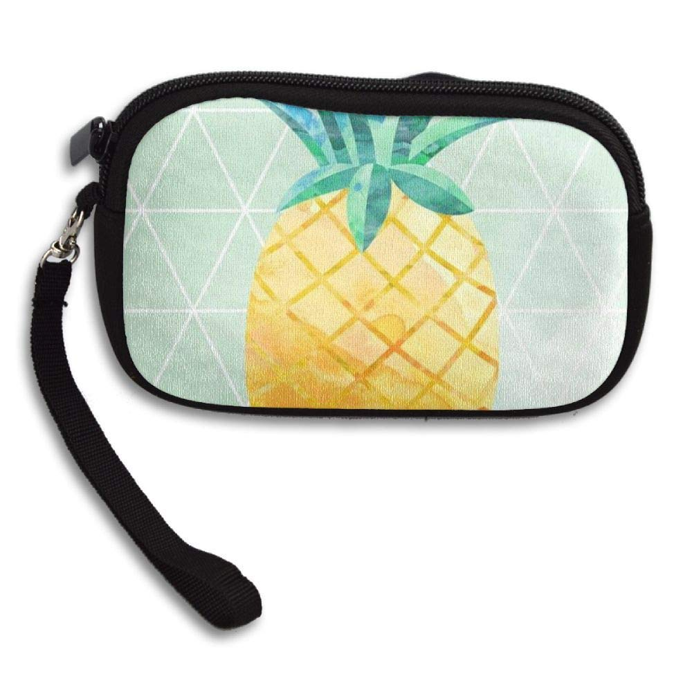 WCVRUT Unisex Clutch Wallet For Woman Ladies -Pineapple Long Purse Bag Men Gentlemen