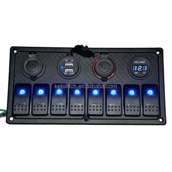 New Technology 4wd 4x4 Rocker Switch Panel With Waterproof Cover - Buy  Switch Panel Cover,Rocker Switch Panel For 4wd,4x4 Switch Panel Product on
