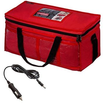 12v Large Heated Indian Chinese Take Away Hot Food Insulated Delivery Bag